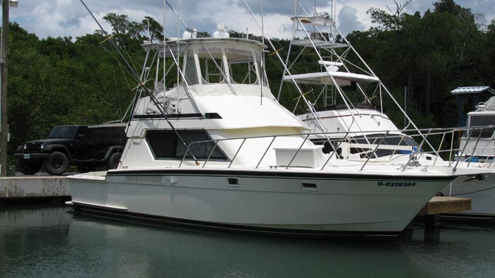 Our Now Fishing Charter Boat